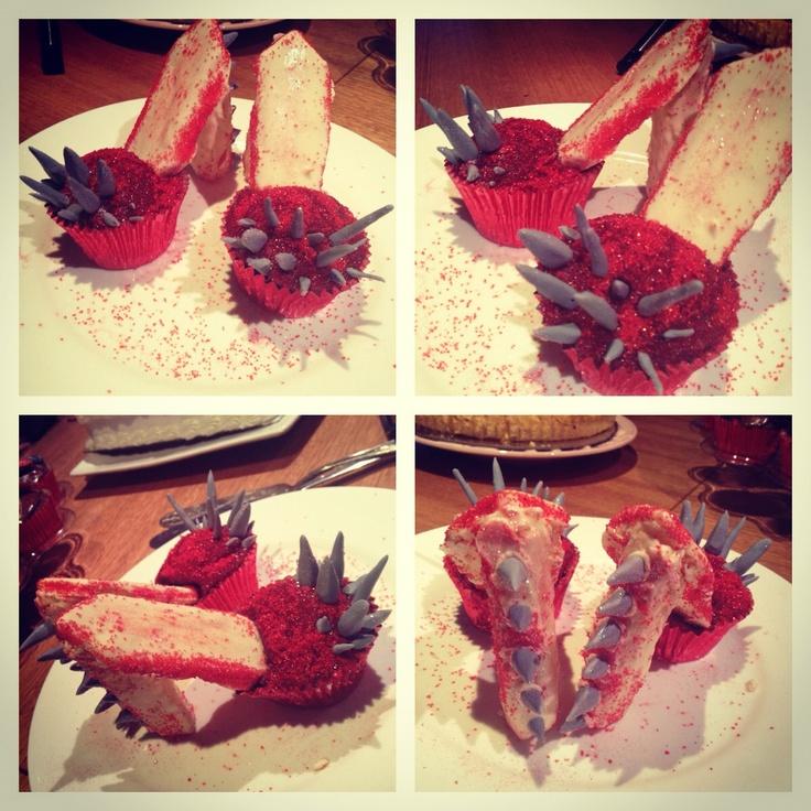 Gaga inspired high heel cupcakes