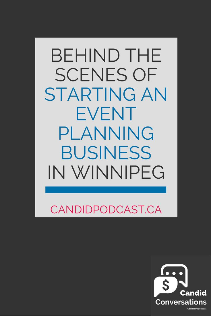 Learn all about behind the scenes of one of Winnipeg's most premier event management businesses... plus get an inside peek at what it's like having a business partner, managing a fluctuating team of people, and more! Click on over to learn more at the Candid Conversations small business podcast