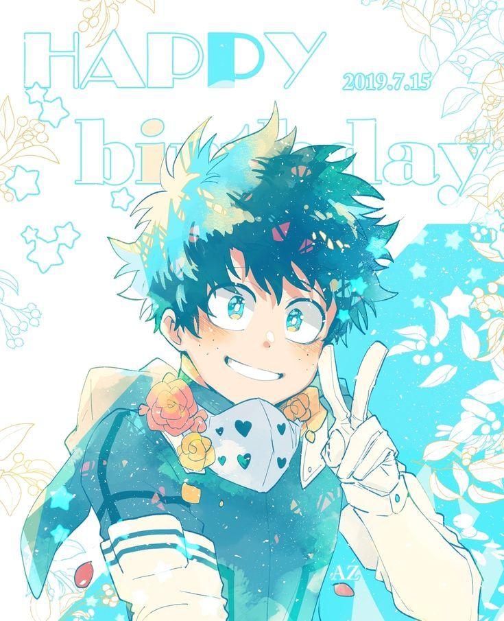 Izuku Midoriya Fanart Anime My Hero Academia Episodes Deku Boku No Hero