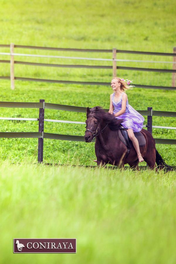Niczym księżniczka <3 :) #konie #coniraya