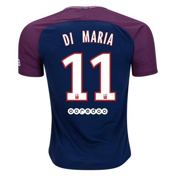 Nike Angel Di Maria Paris Saint-Germain Home Jersey 17/18