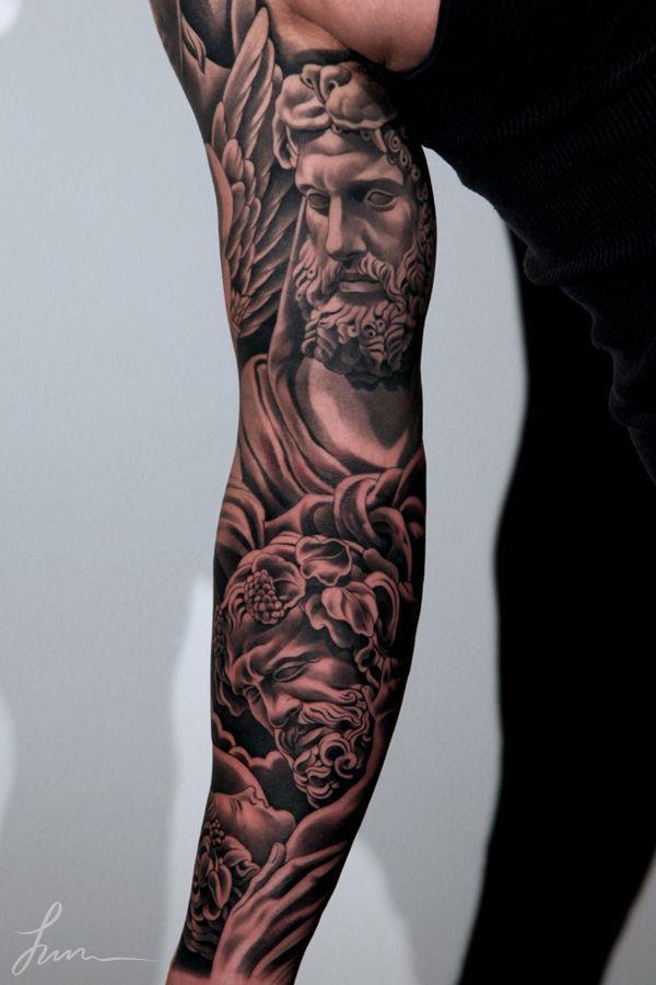 Resultado de imagen de hercules tattoo sleeve