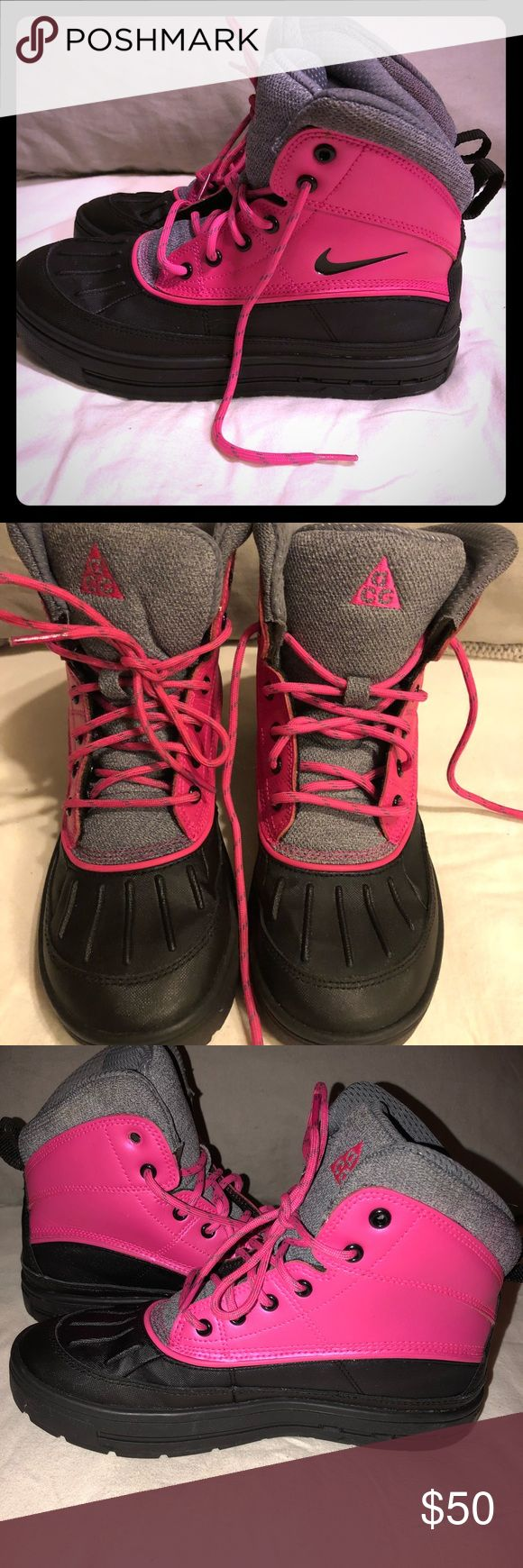 Big Kids Nike Boots Excellent condition worn a handful of times big kids size 5 Nike boots Nike Shoes