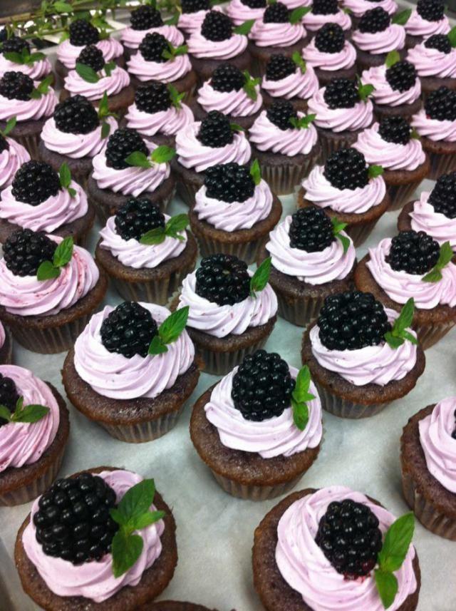 blackberry muffins | Baking | Pinterest