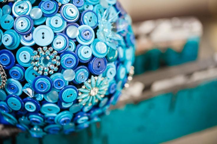 Pacific blue button bouquet by Bukieteria (PL) / fot.: http://2xfoto.pl