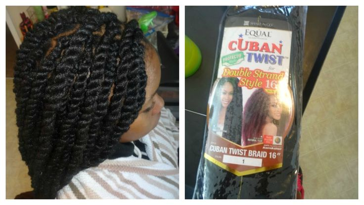 Long Havana Twist | Freetress EQUAL CUBAN Double TWIST Hair *Pics