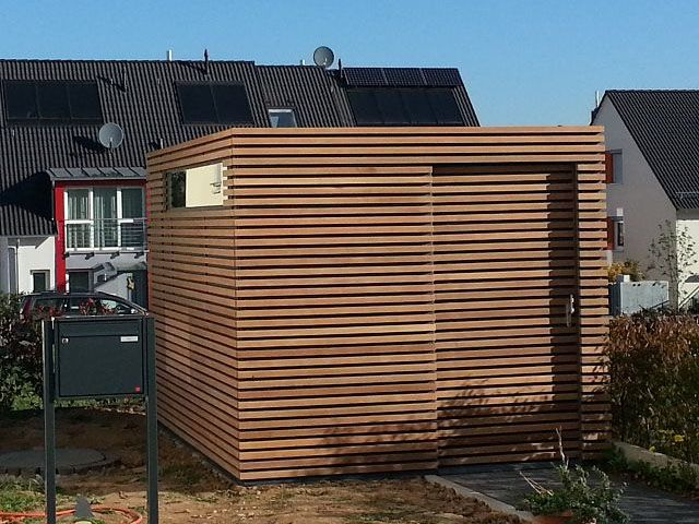 FMH: Gerätehäuser/ Design Gartenhäuser, FMH Metallbau und Holzbau, Stuttgart / Fellbach
