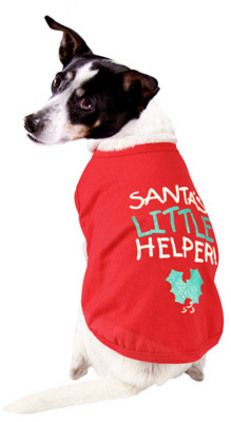Christmas DGG Red Tee - Santas Helper - $9.99 Available in Small, Medium & Large