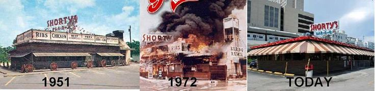 """Restaurants come and go, but Shorty's lives on in the same location on South Dixie Highway since 1951. Not even a fire in 1972 could shut it down. Edward """"Shorty"""" Allen came to Miami the 1970s and was a meat delivery truck driver. He ran his restaurant for 30 years and sold it in 1980. This past April, he died in Stuart at 104."""