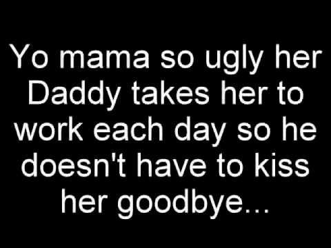 Not really a fan of Yo Mama jokes but this one is a classic...truly funny as hell!