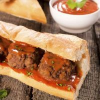 Copycat Subway Meatball Sandwich Sometimes we need quick meals especially when we are late or we are feeling a little bit lazy.