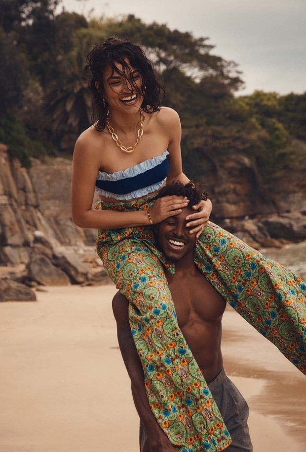 Summer of Love: Shanina Shaik and DJ Ruckus for Elle Australia January 2017