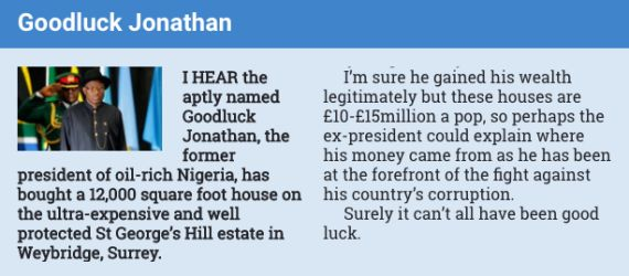 GEJ denies owning 15m house in the UK demands retraction from UK Sun newspaper