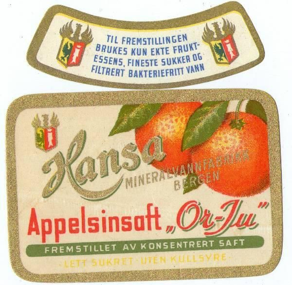 Hansa Or-Ju Appelsinsaft