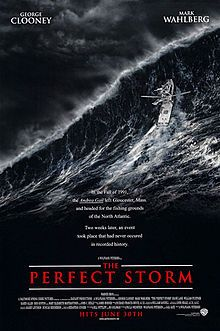 The Perfect Storm is a 2000 dramatic disaster film directed by Wolfgang Petersen. It is an adaptation of the 1997 non-fiction book of the same title by Sebastian Junger about the crew of the Andrea Gail that got caught in the Perfect Storm of 1991.