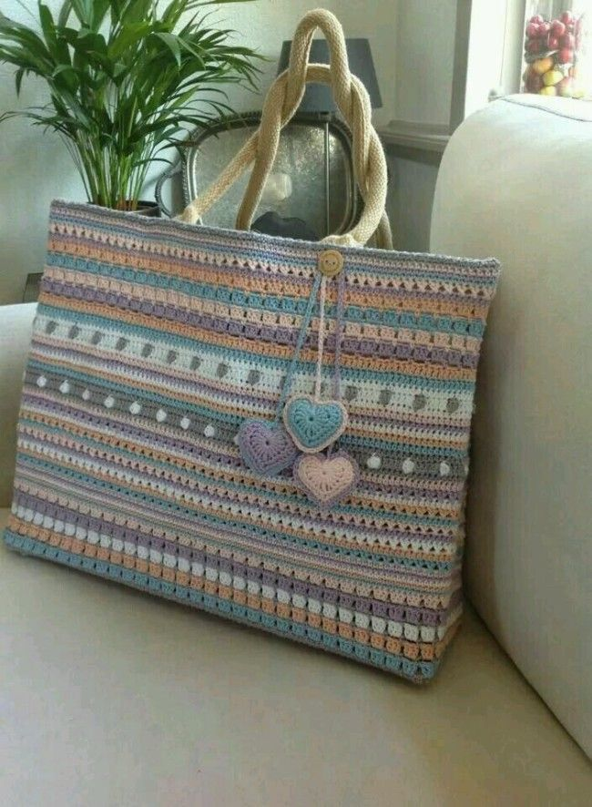 Crochet Hand Bags Pattern #CrochetBagPatterns #CrochetPatterns #CrochetBags #Crochet
