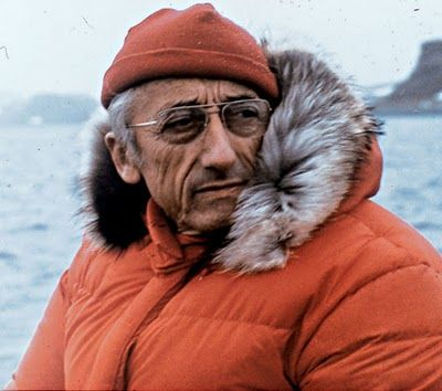 Jacques-Yves Cousteau, 1910-1997. Explorer, ecologist/conservationist, scientist, photographer, author, filmmaker and TV presenter (The Undersea World of Jacques Cousteau, among others). Founded The Cousteau Society in 1973.