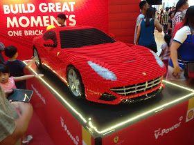 Yoshiny's Design: Shell V-Power LEGO Ferrari Roadshow.