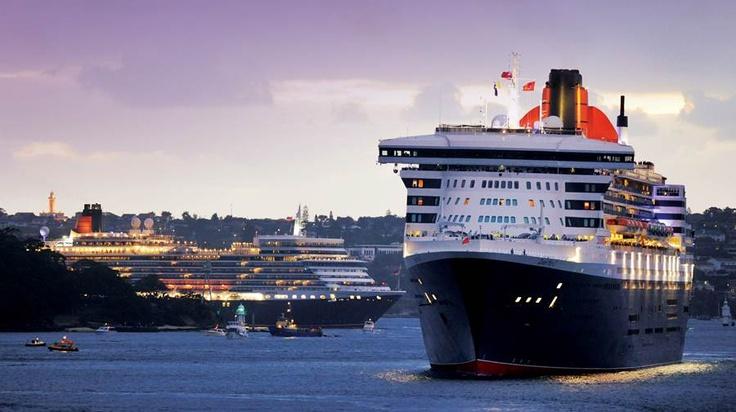 Da Cunard, l'anteprima itinerari 2014! http://dreamblog.it/2013/03/08/da-cunard-lanteprima-itinerari-2014/  Queen Elizabeth e Queen Mary 2, Cunard Line