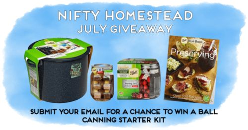 Win a Home Canning Starter Kit {US CA} (07/31/2017) via... sweepstakes IFTTT reddit giveaways freebies contests