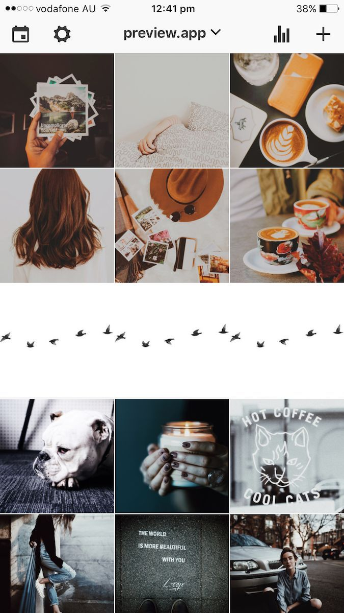 How To Transition Your Instagram Theme Instagram Feed Theme