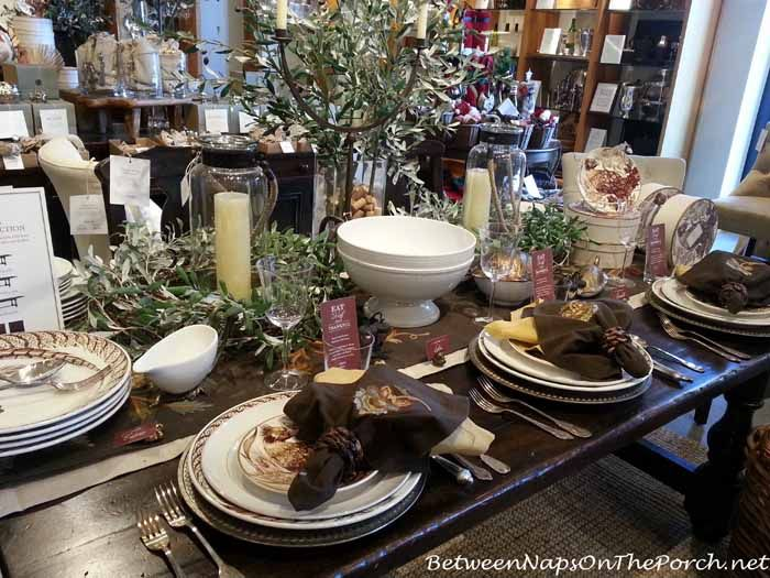 1000 images about bnotp fall table settings tablescapes for Pottery barn thanksgiving