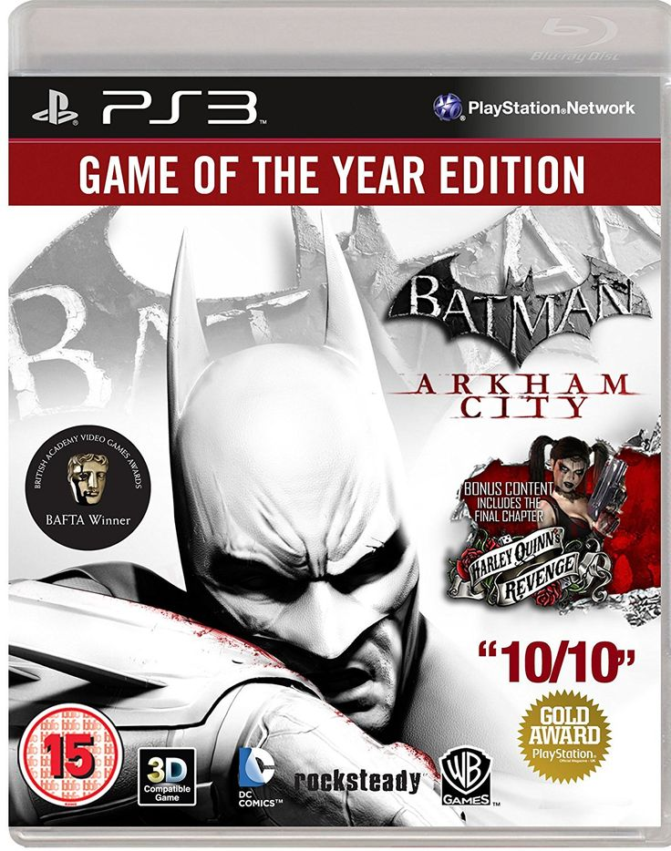Batman: Arkham City - Game of the Year Edition (PS3)