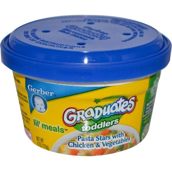 Gerber Graduates For Toddlers Lil Meals Pasta Stars With Chicken