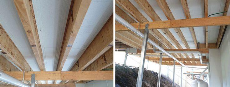 Foam Underfloor Insulation at Soundproofing Products Australia