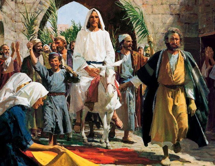 Qual o significado do Domingo de Ramos? | Cleofas