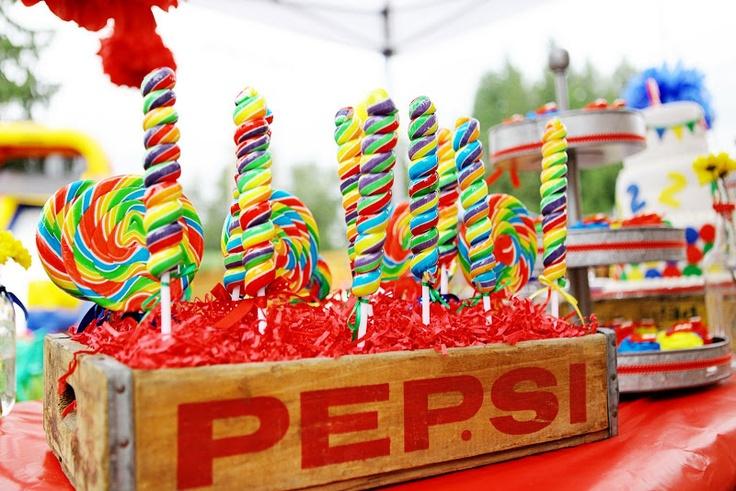 elmo birthday party candy