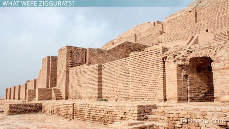 Mesopotamian Ziggurat: Definition & Images - Video & Lesson Transcript | Study.com