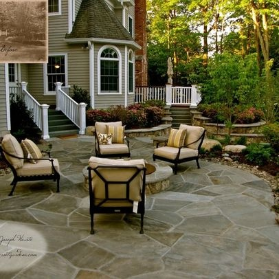 Stone Patio Ideas Backyard five makeover ideas for your patio area Natural Slate Patio