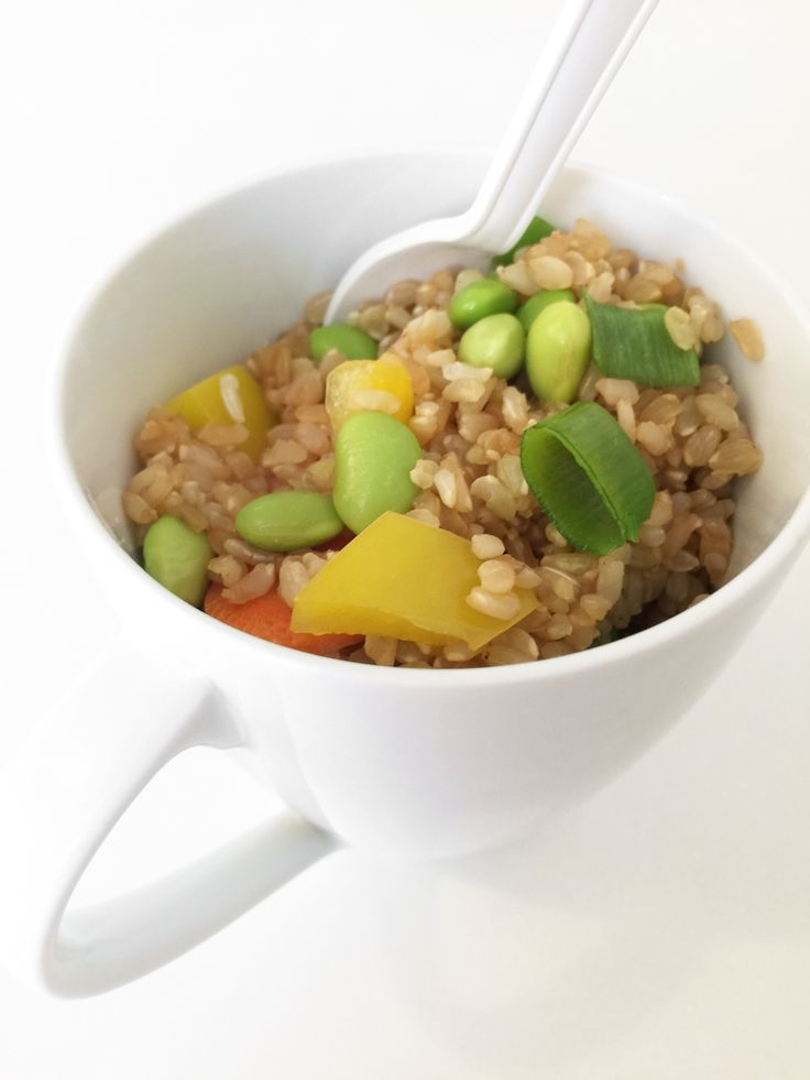 how to make perfect brown rice in the microwave