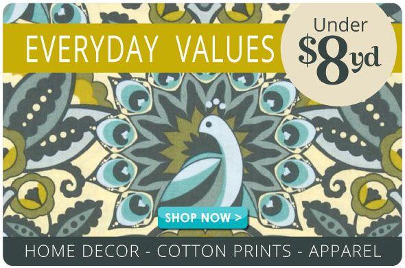 Everyday Value Fabrics