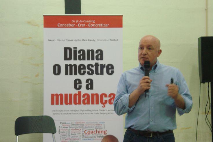 Lançamento do livro «Diana, o Mestre e a Mudança». Maio de 2014