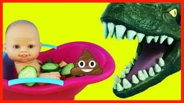 Bad Baby Poop vs Bad Daddy   Swimming in a salad  Dinosaur and Baby  Peppa Pig and poo http://video-kid.com/12018-bad-baby-poop-vs-bad-daddy-swimming-in-a-salad-dinosaur-and-baby-peppa-pig-and-poo.html  Bad Baby Poop vs Bad Daddy . Swimming in a salad. Dinosaur and Baby. Peppa Pig and poo. m&m's and pooMUSIC TOYS:Subscribe to the channel/Подпишись на канал - My videos/Все мои видео -https://www.youtube.com/playlist?list=PL6Oyo1-AeFei9MMbETAzESxrGRQRUQe64Spider Learn Colors Bubble Gum…