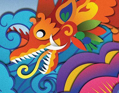 "Check out new work on my @Behance portfolio: ""Bali Dragon"" http://be.net/gallery/35059139/Bali-Dragon"