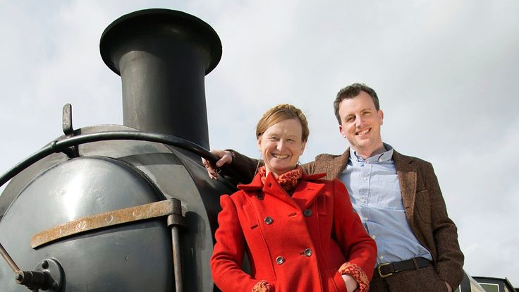 The team head to the South Devon Railway.