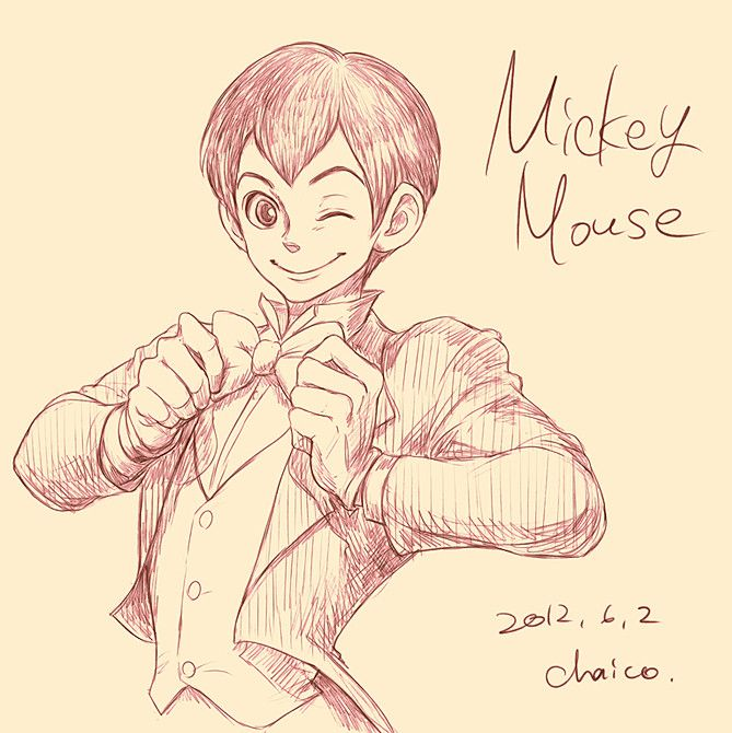 Humanized Disney - Mickey Mouse
