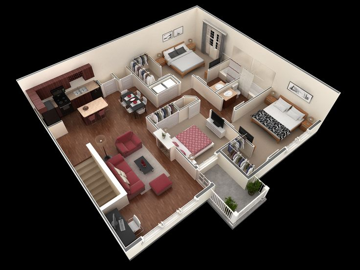 3 bedroom, 2 bath 1,404 sf apartment at Springs at Tech Ridge in Austin, TX. The…