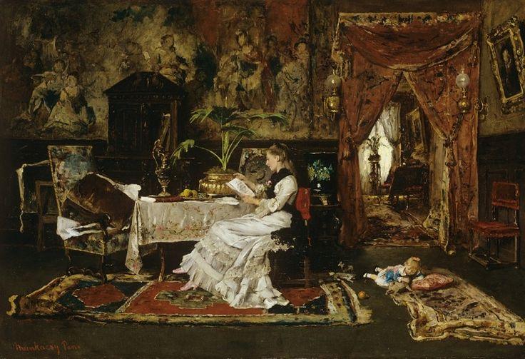 Mihaly Munkacsy - Paris Interior, 1877