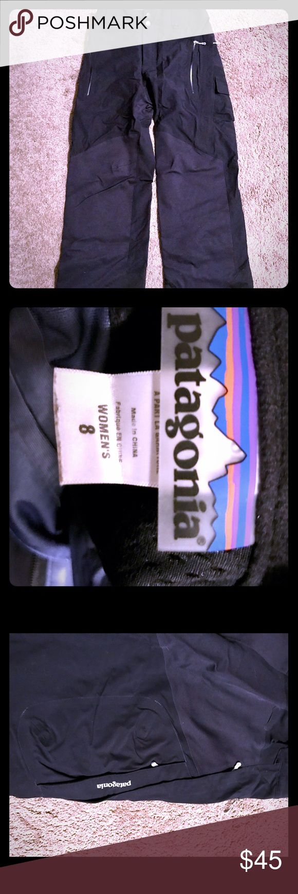 Gorgeous Patagonia ski/snowboarding pants! Size 8 Gorgeous Patagonia ski/snowboarding pants! Worn a couple of times. Warm, comfortable and waterproof. Excellent condition! Size 8 Patagonia Pants