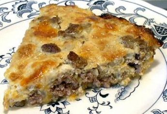 LOW CARB CHEESEBURGER PIE Recipe
