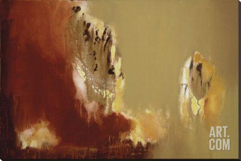 "Firewall IV Stretched Canvas Print by Roberta Aviram at Art.com  54""x36"""