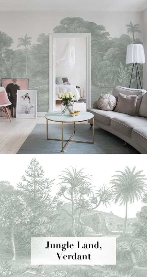 Jungle Land, Verdant WALLPAPER Pinterest - Wohnzimmer Design Grun
