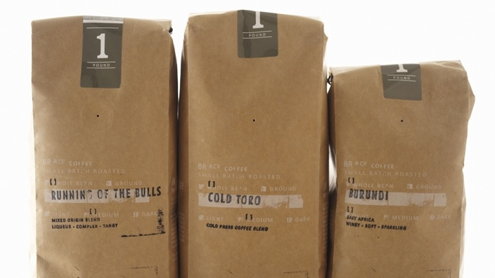 love this Bull Run Roasting Co. packaging