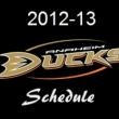 Anaheim Ducks Schedule 2012-2013