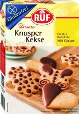 Backmischung Knusper Kekse mit Glasur