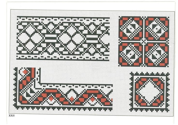 cross stitch, romanian pattern 22